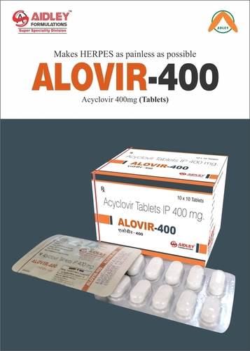 Alovir 400 Tablet