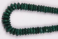 Green Corundum Beads