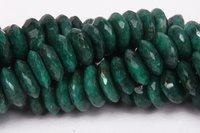 Green Corundum Beads