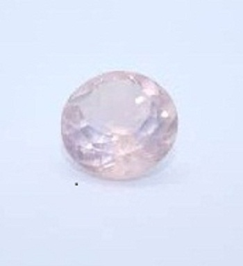 2.75mm Natural Rose Quartz Faceted Round Gemstone