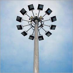 Aluminium High Mast & Poles