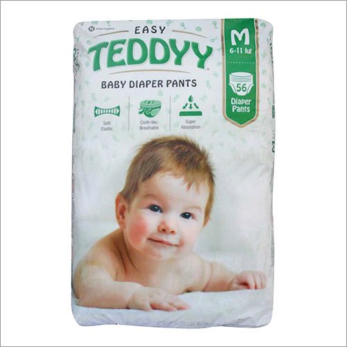 Medium Teddy Baby Diaper Pant