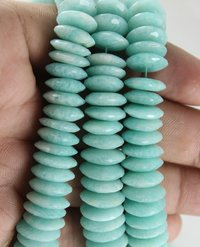 Amazonite German Cut Beads