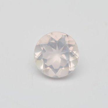 3.5mm Natural Rose Quartz Faceted Round Gemstone Loose