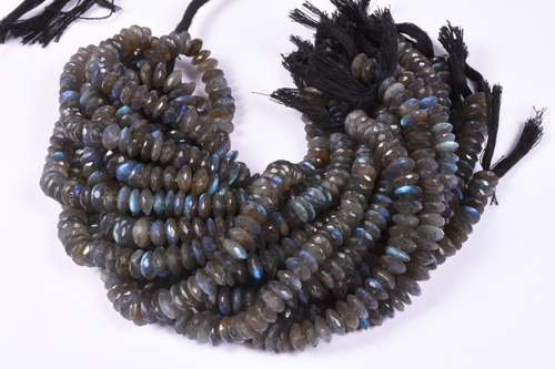 Labradorite German Cut Beads