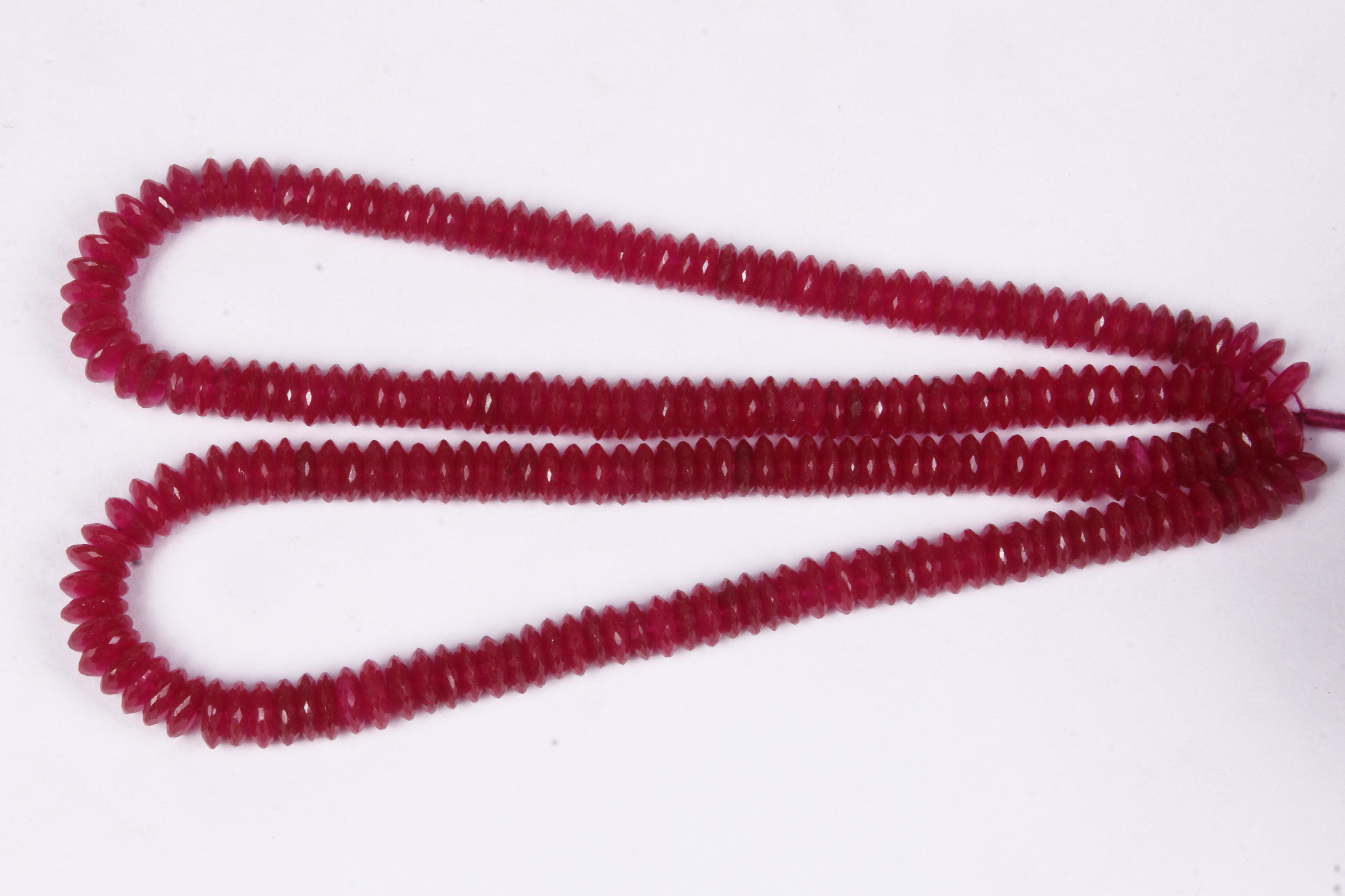 Pink Colour Quartz Beads