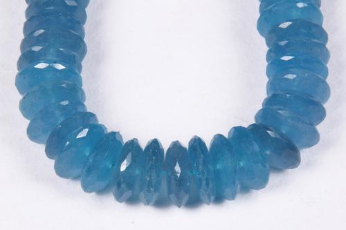 Blue Aquamarine Colour Quartz