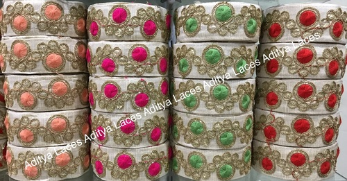 9 Meter Embroidery Lace