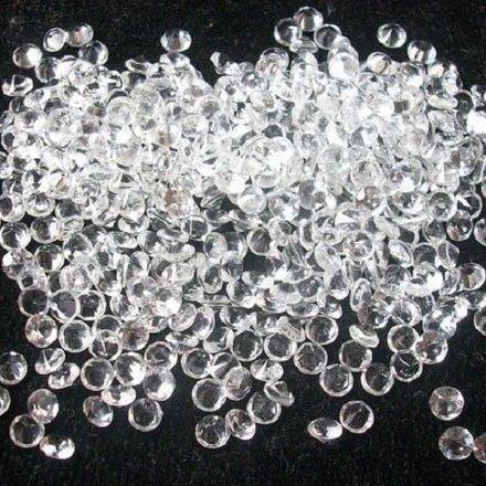 3mm Natural White Crystal Quartz Faceted Round Gemstone