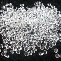 3mm Natural White Crystal Quartz Faceted Round Gemstone