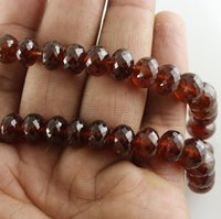 Hessonite Garnet Gemstone Beads