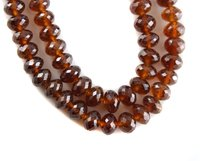 Hessonite Garnet Beads
