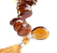 Hessonite Garnet Natural Beads