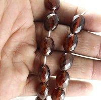 Natural Hessonite Garnet Beads