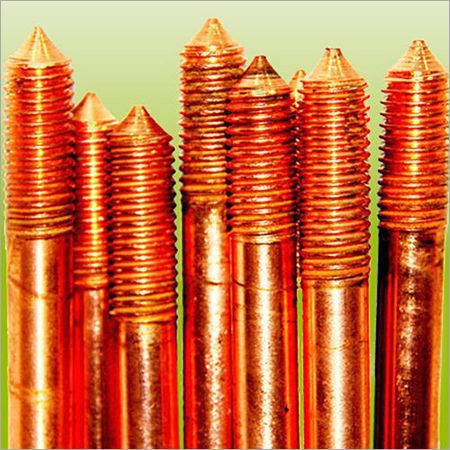 Copper Bonded Earthing Rods for DC Systems