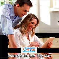 Genuine Online Data Entry Work
