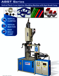 Horizontal Toggle Vertical Injection Moulding Machine