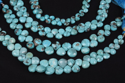 Arizona Turquoise Heart Beads