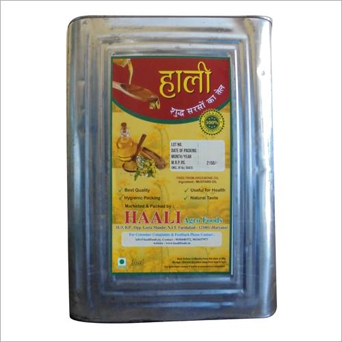 15 liter Natural Mustard Oil