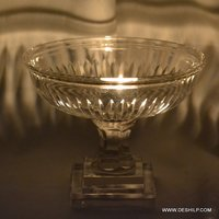 Beautiful Glass Hurricane Candle Holder