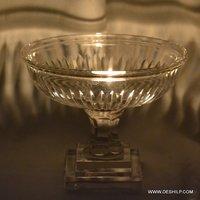 Beautiful Glass Hurricane Candle Holder