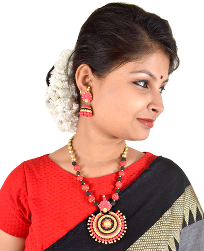 Traditional Terracotta Jewellery Sets Latest Design For Women