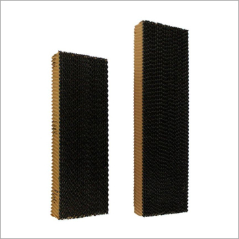 Black Coated Evaporative Cooling Pad