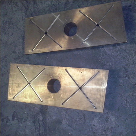 Steel Plant Bronze Sleeper Pads Place
