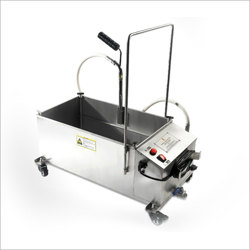 Portable Frying Oil Filter Machine