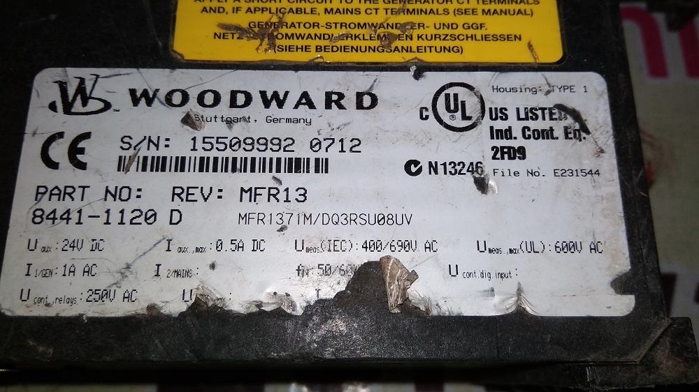 WOODWARD HMI 8441-1120 D