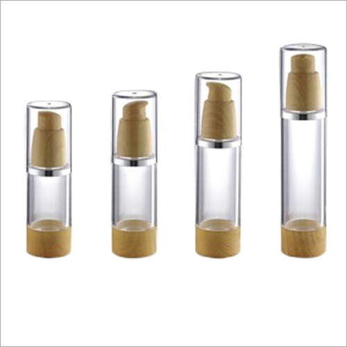Acrylic Cosmetic Cylindrical Empty  Jar