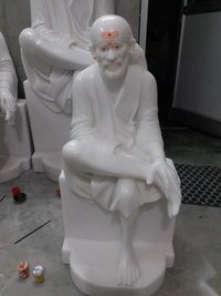 Shirdi Saibaba Marble Murti