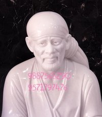 Makrana Marble Sai Baba Statue