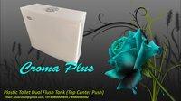 Flush Tank Dual (Plastic Toilet Cistern) - Croma Plus