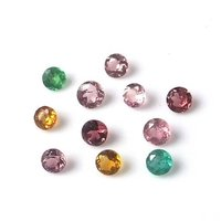 3mm Natural Multi Tourmaline Faceted Round Gemstone Prices