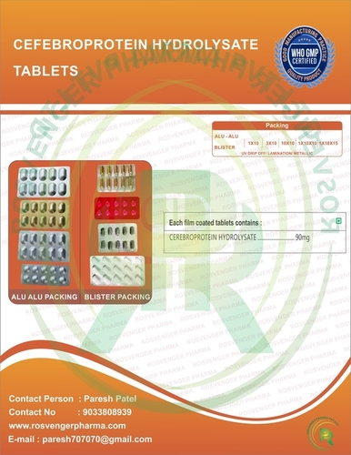 CEREBROPROTEIN HYDROLYSATE TABLETS
