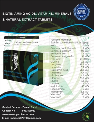 NUTRACEUTICAL TABLET