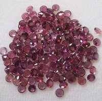 6mm Natural Pink Tourmaline Faceted Round Loose Gemstone