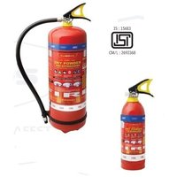 ABC Dry Powder Portable Fire Extinguishers in Capacity 6 Kg.
