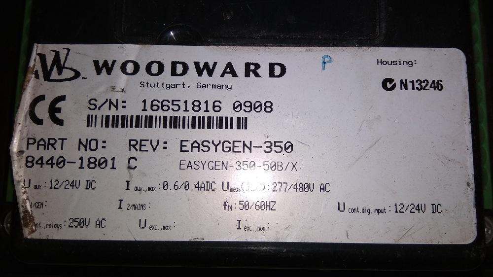 WOODWARD HMI 8440-1801 C