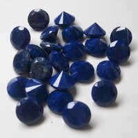 6mm Natural Lapis Lazuli Round Faceted Loose Gemstone