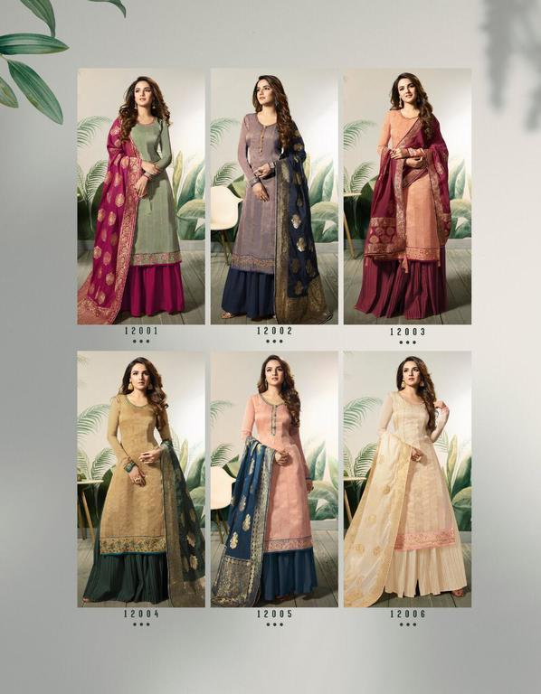 Fancy Banarasi Jacquard Suits