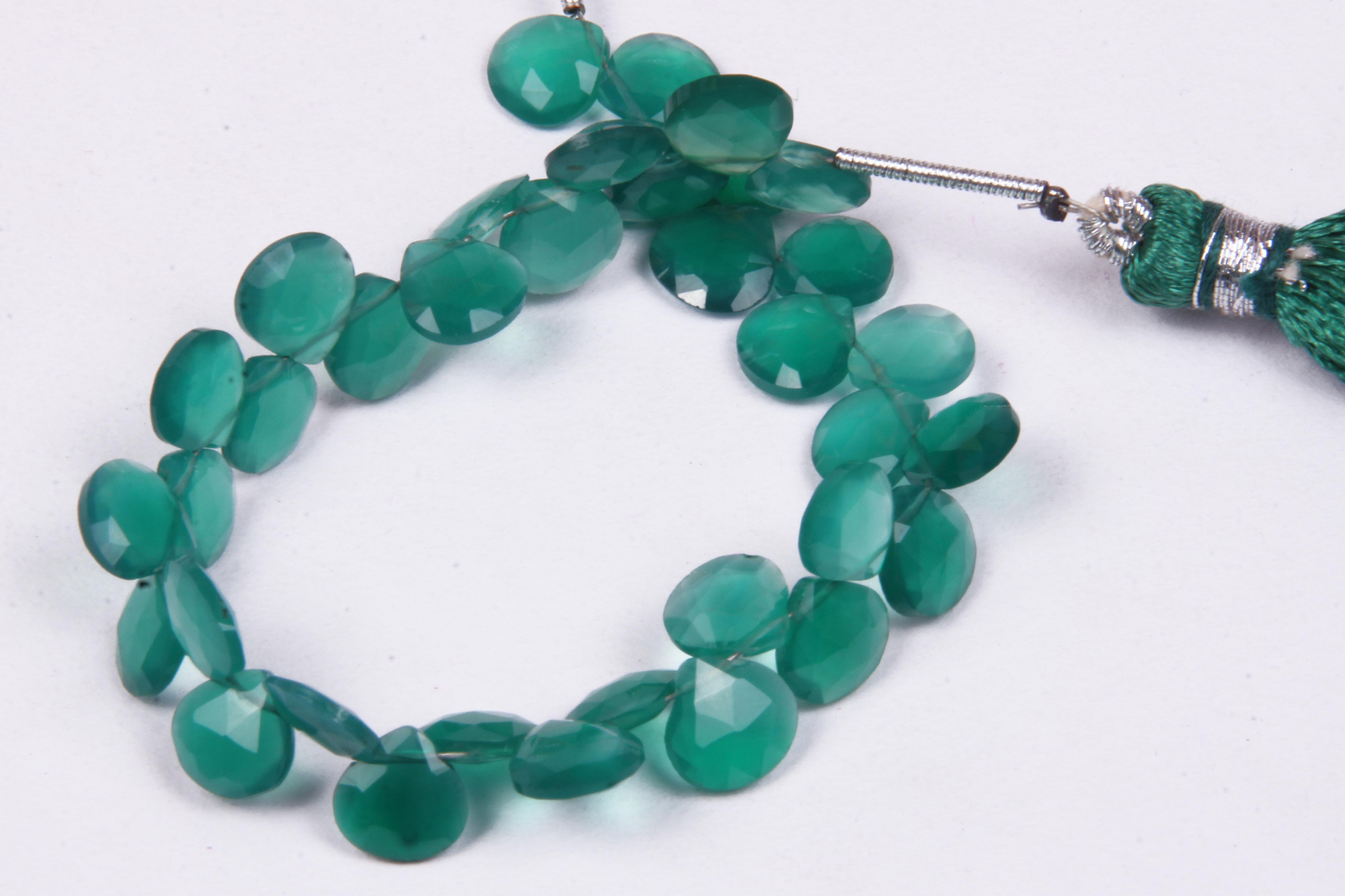 Mix Gemstone Heart Beads