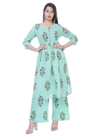 kurti with plazzo set