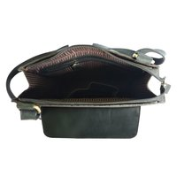 Leather Crossbody Office Bag
