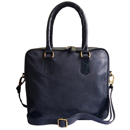 Leather I-Pad Office Bag for Women