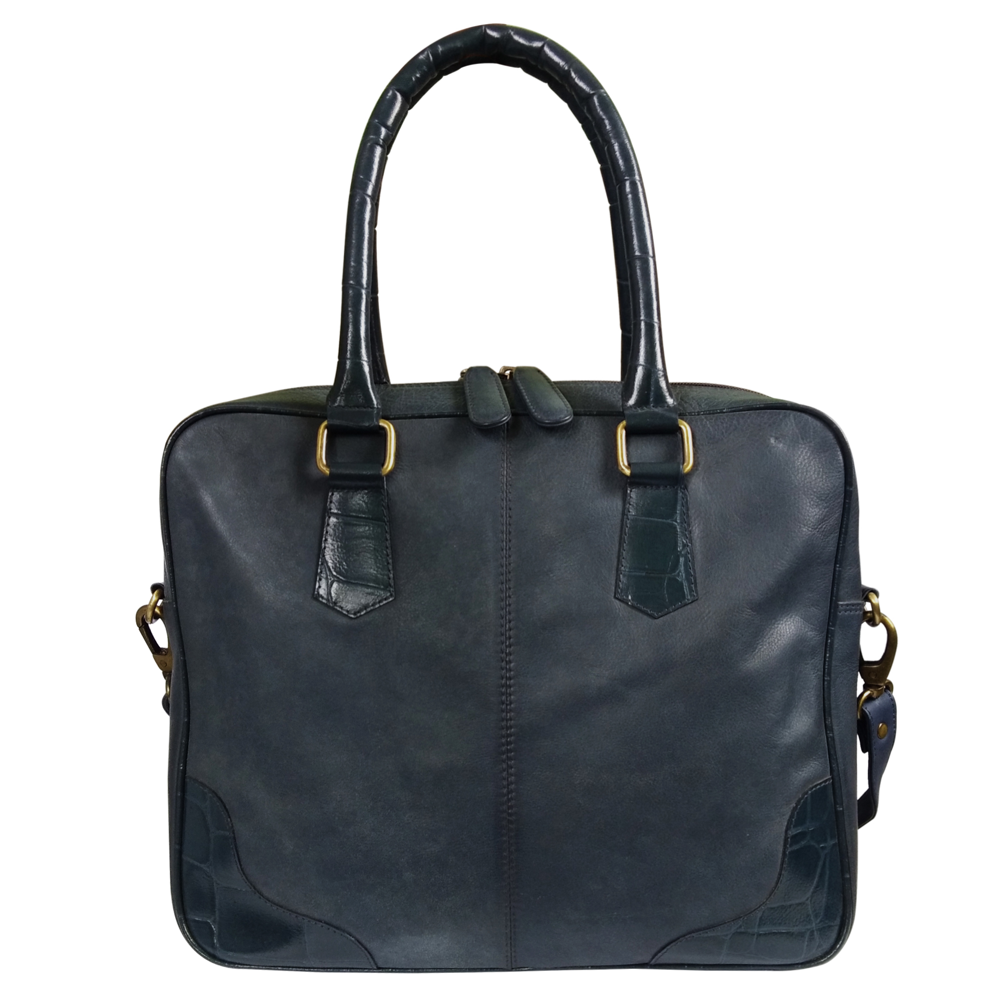 Leather I-Pad Office Bag Shoulder Handbag Women
