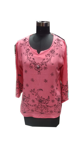 Women Rayon Printed Top