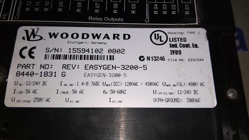 WOODWARD HMI 8440-1831 G