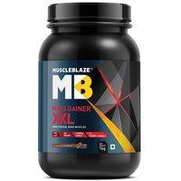MuscleBlaze Mass Gainer XXL, 2.2 lb(1kg) Cookies & Cream